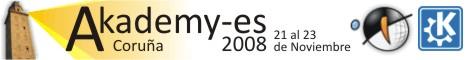 Logo Akademy-es 2008